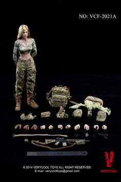 Product Announcement VERYCOOL: 1/6 Female Shooter x 2 (VCF-2021A & B) - OSW: One Sixth Warrior Forum