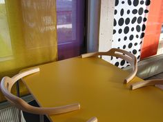 Prosjekter – Fortunen Colour Architecture, Floor Chair, Architects, Flooring, Interior Design, Furniture, Color, Home Decor, Nest Design
