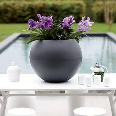 Pot De Fleurs Elho Pure Ball decodesign / Décoration