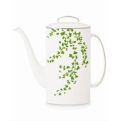 Kate Spade by Lenox - Gardner Street Green Kate Spade Coffee Pot