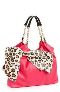 Pink + cheetah + bow = I NEED IT ! ! !