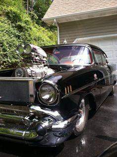1957 Pro Street Hot Rod
