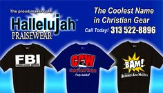 d74d726f1 Arrowest Custom T-Shirts/ Makers of Hallelujah Praisewear.  email@arrowestsportswear.com (313) 522-8896