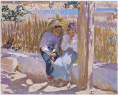 Idyll, Javea - Joaquín Sorolla, 1900