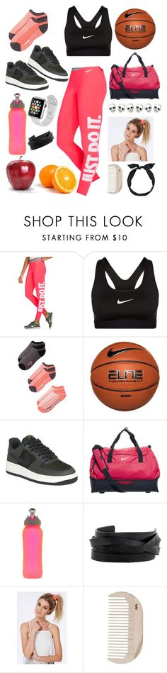 """""""Basketball class"""" by michulich1 ❤ liked on Polyvore featuring NIKE, Zella, Samsung, Gucci, Missguided, HAY and yunotme"""