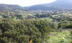 """Veduta dall'alto della zona """"Valle dei Mulini"""", Rio nell'Elba"""