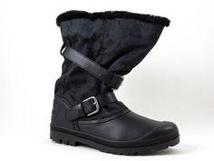 Coach Women's Holiway Boots Black Signature C Jacquard Size 10 M #Coach #SnowWinter