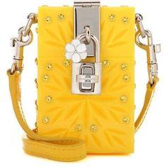 Dolce & Gabbana Dolce Box Cinderella Mini Shoulder Bag