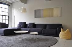 "Aleksandra Gaca, ""Architextile"", 2011-2012, acoustic textile panel. Photo courtesy of the artist"