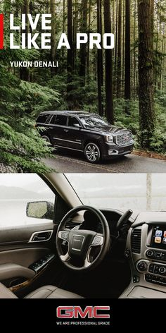 Some believe it's better to live to a higher standard. We couldn't agree more. Here's to living Like A Pro.  Yukon Denali's bold exterior styling holds true to Denali tradition. Attention to detail is second to none and is especially evident in Yukon Denali's newly redesigned grille -- helping Yukon's powerful-yet-elegant shape further stand apart in the full-size luxury segment.