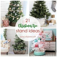 Now that Christmas is in full swing it's time to get those trees up. We found21 of the best Christmas Tree Stand Ideas whichare a unique alternative to tree skirts and will add the perfect finishing touches to your Christmas tree. If you're looking for a DIY or something you can buy off the shelf …