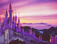 King Stefan's Castle....this is where i would live if i could live in disney castle