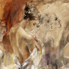 anna razumovskaya paintings | Past. Present Future 4 Anna Razumovskaya Artwork