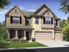 Ryland Homes Spokane C of the Enclave at Wortham Oaks community in San Antonio, TX.