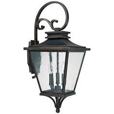 """Capital Gentry 26 1/2"""" High Old Bronze Outdoor Wall Light - #1H526 