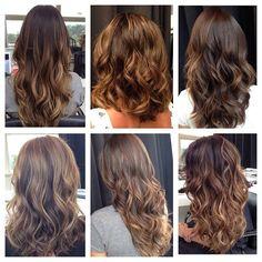 """""""E a última do ano sobre cabelos!! As morenas iluminadas, gente sem palavras pra todas vocês clientes e também seguidores! Agradeço a Deus e a vocês por…"""""""