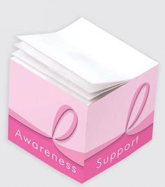 Promotional Products - 2 1/8 x 2 1/8 x 2 Post-It(R) Mini Cube. (Customized with your brand or logo)