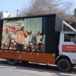 Upon brainstorming we then decided to deploy the LED vans – large LED screens of almost 10'x20' mounted on top of a truck. The LED screens afforded excellent visibility during the day time also. The uniqueness of the medium ensured it was a huge crowd puller. The rallies and speeches were recorded and run on the screens in different areas. 4 vans were deployed reaching into the interiors and ensuring that the recorded screening was current and relevant to that area. For e.g. – if there was a…