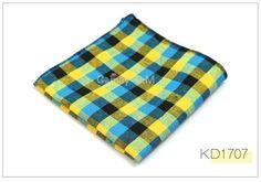 Quality Plaid Pocket Square