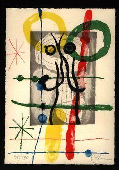 Sagittarius - JOAN MIRÓ - Catalogue of the original printed works No: 365 - www.original-grafik.de
