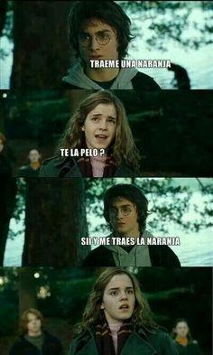 Harry, ¡pelado!