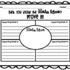 Here is a main idea graphic organizer and summary page for a non-fiction text. FREE
