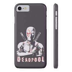 Slim iPhone 8 Cover Case  ||  Super slim deadpool theme design for this iPhone 8 cover case with a lay-flat bezel to protect your screen from contacting surfaces. Impact resistant. https://www.mg007.co.uk/products/slim-iphone-8-cover-case?utm_campaign=crowdfire&utm_content=crowdfire&utm_medium=social&utm_source=pinterest