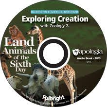 This CD contains a complete audio recording of the course Exploring Creation with Zoology 3: Land Animals of the Sixth Day as read by Jeannie Fulbright. This is the perfect accompaniment to the book for students who are auditory learners, slow readers, or have other learning disabilities that make reading difficult. Please note that this is not a standard CD. It is an MP3 CD.