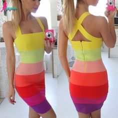 COLORED DRESS via Tillys. Click on the image to see more!