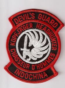 french foreign legion indochina | French Foreign Legion Patch Devil's Guard Indochina | eBay