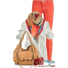 Spring Outfit pair with Mary Kay's Cream Eye Color in Coastal Blue, Deep Brown or Dark Denim Eyeliner, Ultimate Black Mascara, Shy Blush and Color Me Coral True Dimensions Lipstick...