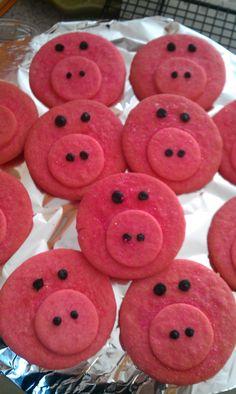 Pig cookies