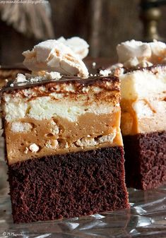 My man's kitchen. Polish Recipes, Polish Food, Cookie Bars, Cake Cookies, Yummy Cakes, Fun Desserts, How To Make Cake, Sweet Treats, Cooking Recipes