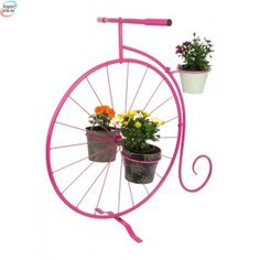 """Dekorasjon For Planter """" Enhjuling """""""