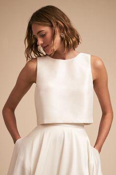 Clarice Top & Marissa Skirt | BHLDN