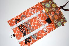 Cord Organizer Power Cord Holder Cord Travel by Sewmuchfunstuff