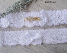 Set de ropa de boda boda Liga Liga de encaje por BridalSpecialDay