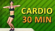 Cardio Workout At Home - 30 Min Aerobic Exercise - YouTube