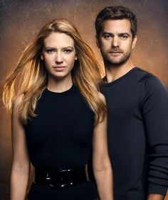Agent Olivia Dunham && Peter Bishop! LOVE Fringe! I am obessed with this show!