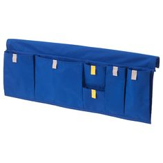 IKEA MÖJLIGHET Bed pocket Blue 75 x 27 cm With this practical bed pocket by the side of the bed, you always have your book, tablet and headphones within easy reach – even if you sleep on the top part of the bunk bed. Ikea Storage Boxes, Storage Baskets, Ikea Drawers, Book Storage, Kids Storage, Small Storage, Storage Organization, Articles Pour Enfants, Bed Pocket