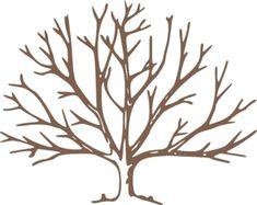 bare tree clip art | Brown Bare Tree clip art - vector clip art online ...