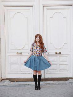 Top Ada Cats .  Skirt Geraldine Pepaloves Iris loves fashion