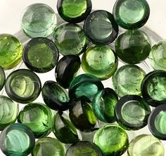Glass beads in shades of green Mean Green, Go Green, Green Grass, Green Colors, Olive Green, Color Psychology, Shades Of Green, 50 Shades, Color Of Life
