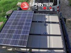Ford-Transit-Aluminess-solor-roof-rack-ecoline-van- Solar Energy Panels, Solar Panels, Ford Transit Conversion, Tactical Truck, Architecture 3d, Solar Roof, Energy Companies, Solar Panel Installation, Energy Use