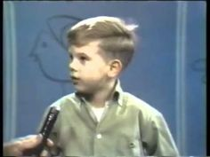 Kids Say the Darndest Things ( Art Linkletter's House Party) I used to love this show with Bill Cosby Cute Gif, Funny Cute, Hilarious, Art Linkletter, Things Kids Say, Bill Cosby, Youtube I, Belly Laughs, Funniest Things