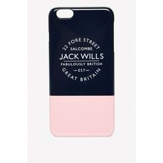 STEWARTON PHONE CASE FOR IPHONE 6 PLUS (450 MXN) ❤ liked on Polyvore featuring accessories, tech accessories and jack wills