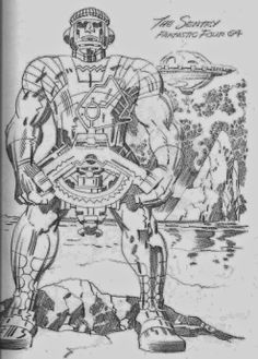 Cap'n's Comics: Sentry Sinister! by Jack Kirby
