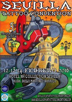 5ª Sevilla Tattoo Convention | Tattoo Filter. Tattoo Filter is a tattoo community, tattoo gallery and International tattoo artist, studio and event directory.