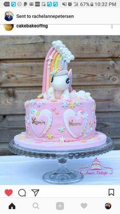 Birthday Cake Girls, Unicorn Birthday Parties, Unicorn Party, Diy Unicorn Cake, Unicorn Cake Topper, Unicorne Cake, Cloud Cake, Pony Cake, Girly Cakes