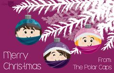 Merry Christmas from the Polar Caps Illustrated by Heather Martinez